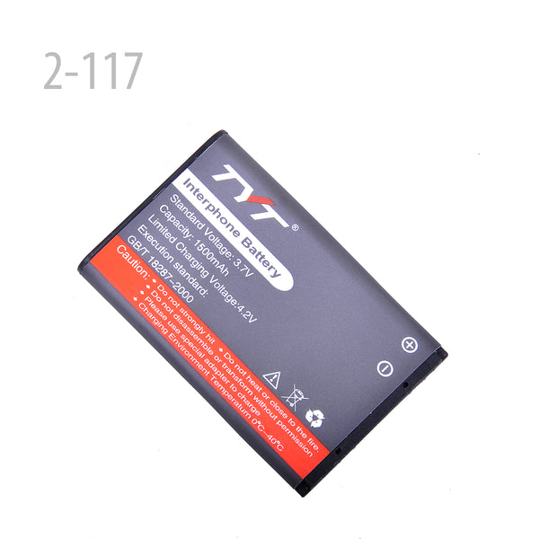 Original Li-ion Battery 1300MAH 3.7V for TYT THUV3R(2-117)