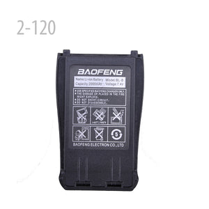 BAOFENG Original 7.4V 2000mAH LI-ION Battery