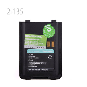 LI-ION BATTERY 7.2V 1500MAH FOR QUANSHENG TG-5AU-PLUS