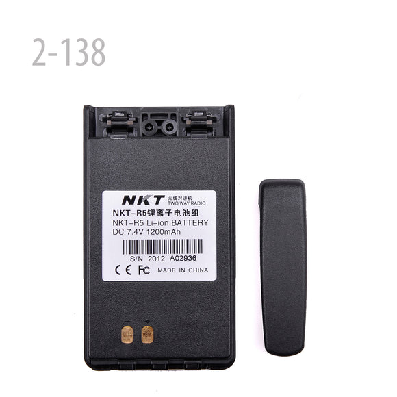 LI-ION BATTERY 7.4V 1200MAH FOR NKT NKTR5