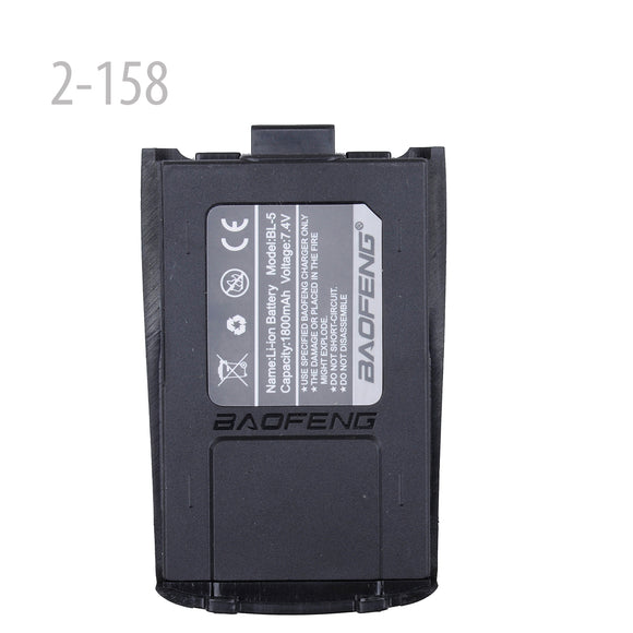 Original BAOFENG A52 7.4V 1800MAH Li-ion Battery