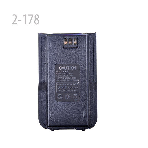 7.2v 2000mAh Li-ion Battery Pack For Tytera(TYT) MD-380 (2-178)