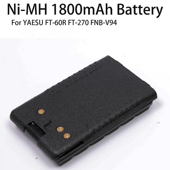 1800mAh Ni-MH Battery Pack for VX-160 VX-168 VX-170 VX-177 VX-210A VX-218 VX-400
