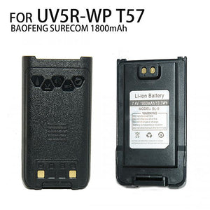 BAOFENG 7.4V 1800mAh Li-ion Battery For UV5R-WP SURECOM