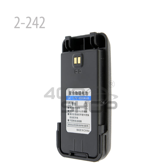 Surecom DC 3.7V 4500mAh Li-ion Battery for Surecom H5 4G Network Radio