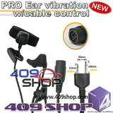 Ear-Vibration Earbone Earpiece Headset for IC-T7H ,IC-W32A,IC-F3,IC- F3S