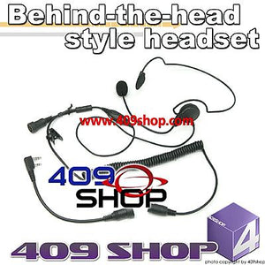 Behind the Head Two Way Radio Headsets for UV-5R UV-5RA UV-5RA-UU UV-5RA-plus