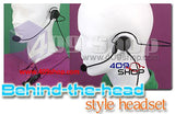 Behind the Head Two Way Radio Headsets for motorola gp328plus GP-338