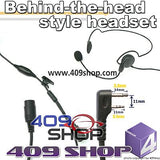 Behind the Head Two Way Radio Headsets for IC-F3G,IC- F3GS, IC-F4G, IC-F4GS