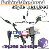 Behind the Head Two Way Radio Headsets for VX130, VX131 ,VX160, VX-168