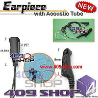2-Wire Earphone w/ Acoustic Tube for Motorola MOTOTRBO XiR P8200