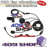 Two way radio headset for motorcycles for TK-360G TK-370 TK-370G