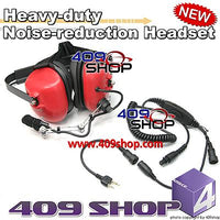 Heavy-duty Noise-reduction Headset(R)+Mini Din Plug 44-S