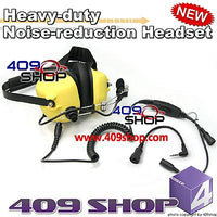 Heavy-duty Noise-reduction Headset (Y)+Mini Din Plug 44-B