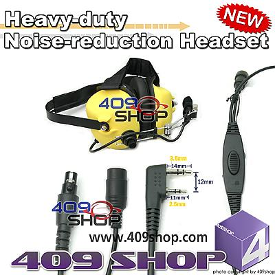 Heavy-duty Noise-reduction Headset(Y)+Mini Din Plug 44-K