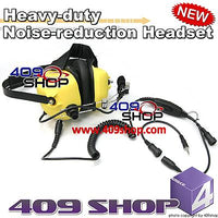 Heavy-duty Noise-reduction Headset (Y)+Mini Din Plug 44-V