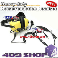 Heavy-duty Noise-reduction Headset(Y)+Mini Din Plug 44-Y7