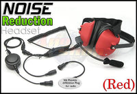 Heavy duty Noise Headset (R) +Mini Din Plug 44-Y7