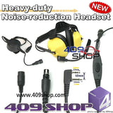 Heavy duty Noise reduction Headset-Y+Mini Din Plug 44-S2L