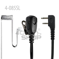 Surecom 2-wire Acoustic Tube Earpiece with PTT For Baofeng Motorola Yaesu Puxing Icom ( Please Choice ) 4-085 SERIES