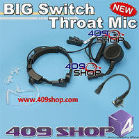 Military Grade Tactical Throat Mic for VX-351 VX400 VX410
