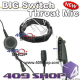 BIG Switch Forehead/Throat Mic +Mini Din Plug 44-M328