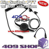 Big switch PTT with ear vibration +Mini Din Plug 44-MM for i830 i836 i850
