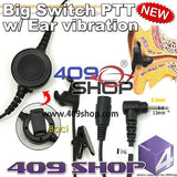 Big switch PTT with ear vibration+ Mini Din Plug 44-MT for T4500 T4800 T4900