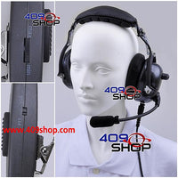 Noise Cancelling Carbon Fiber Pattern Heavy duty Headset