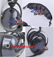 Carbon Fiber Pattern Heavy duty Noise Cancelling Headset for UV-3R