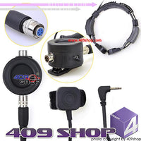 Throat Vibration Vacuum Headset w/ Cable (MT Plug)
