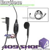 165B-K1 Single Wire Headset Microphone with PTT(K plug) for TK-272G TK-278 TK-278G