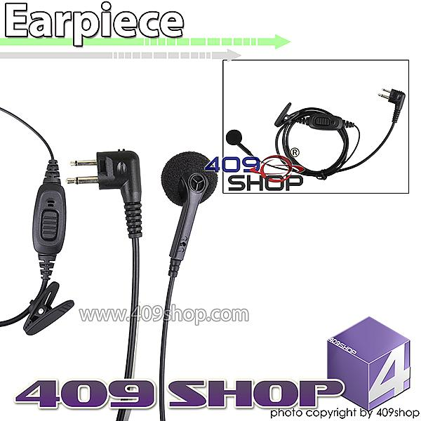 165B-M1 Single Wire Headset Mic with PTT for GP300/GP88 (M Plug) for FD-160A FD-450A FD-460A