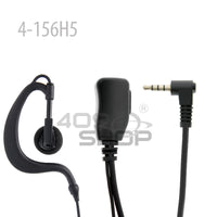 2-wire PTT Ear Loop Earpiece for Surecom H5 4G Network Radio