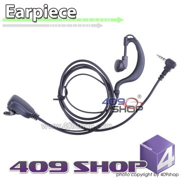 2-wire PTT D-ring Ear Loop Earpiece (Y plug) for VX-300 VX-410 VX-420