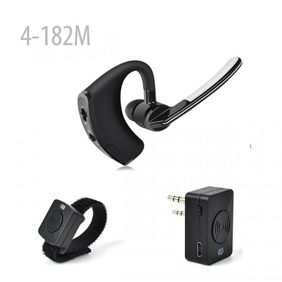 Bluetooth Headset Earpiece Wireless PTT HT Walkie Talkie -Motorola