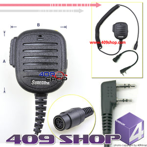 Two Way Radio Speaker Microphones for TG-2AT TG-22AT TG-25AT