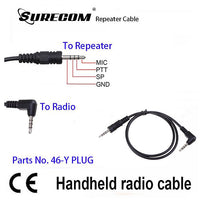 Surecom Repeater Controller Cable for YAESU FT-60R FT-50 FT-60R,VXF-1,VX-1R, VX-2R (#117337)