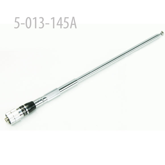 TELESCOPIC ANTENNA SMA-female VHF 145MHZ for MYT-DP201 , MYTQ2