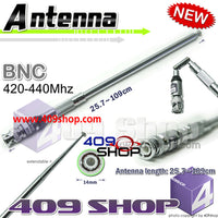 TELESCOPIC ANTENNA BNC UHF 420-440MHz for TK300, TK310, TK320