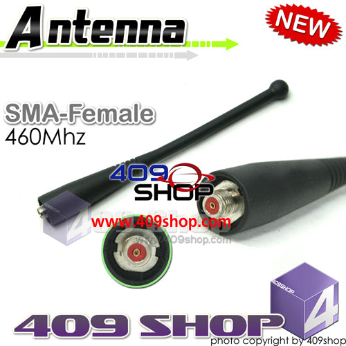 RED SMA-FEMALE ANTENNA SMA-Female 460MHZ for Motorola