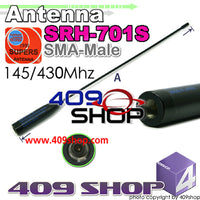 SUPER SRH701S SMA-MALE 144/430MHZ Antenna