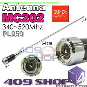 Super MC202 Mobile PL259 54CM Antenna 340-520Mhz