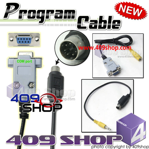 Programming cable Mini Din 6Pin for YAESU FT7800