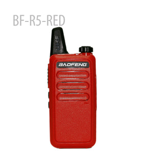 BAOFENG BF-R5-RED Mini Portable two way radio UHF 400-470MHz
