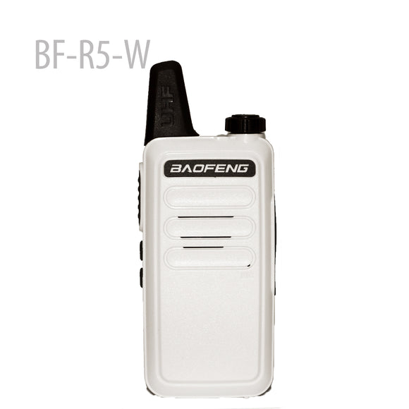 BAOFENG BF-R5-W Mini Portable two way radio UHF 400-470MHz