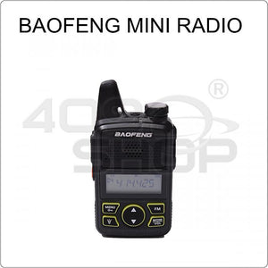 BAOFENG BF-T1 UHF 400-420mhz mini walkie talkie+ Earpiece
