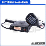 Baojie BJ-218 136-174/400-470MHz Mini Mobile Radio Transceiver
