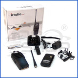 IRADIO CP-8800 UHF 400-480MHz black two way radio 10W Transceiver