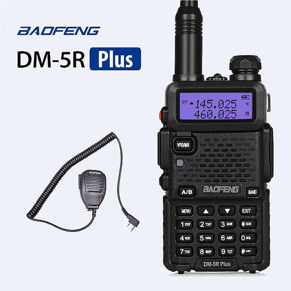 Baofeng DM-5R Plus Dual Band DMR Digital Two-Way Radio